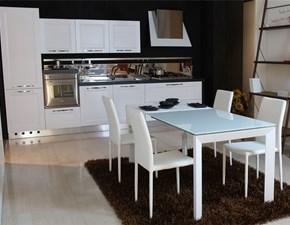 Cucina moderna lineare Artigianale Blanca a prezzo ribassato