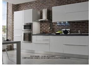 Cucina moderna lineare Artigianale Promo * a prezzo scontato
