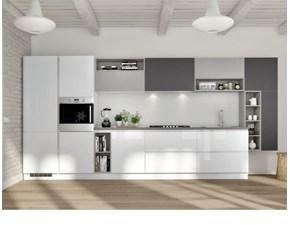 Cucina moderna lineare Artigianale Shadow a prezzo scontato