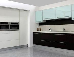 Cucina moderna lineare Artigianale U822 sonia a prezzo ribassato