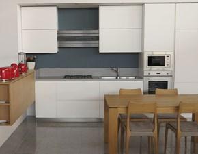 Cucina moderna lineare Artigianale U823 sonia a prezzo scontato