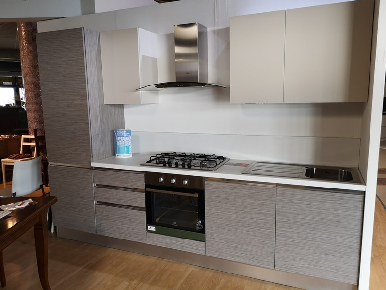 Cucina moderna lineare astra cucine cucina expo a prezzo scontato - Cucina moderna prezzo ...