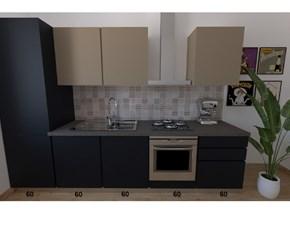 Cucina moderna lineare Astra cucine Sp22 a prezzo scontato