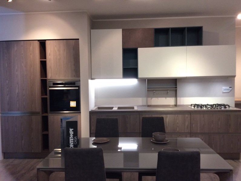 Cucina Moderna Lineare Creo Kitchens Tablet Head A Prezzo Ribassato