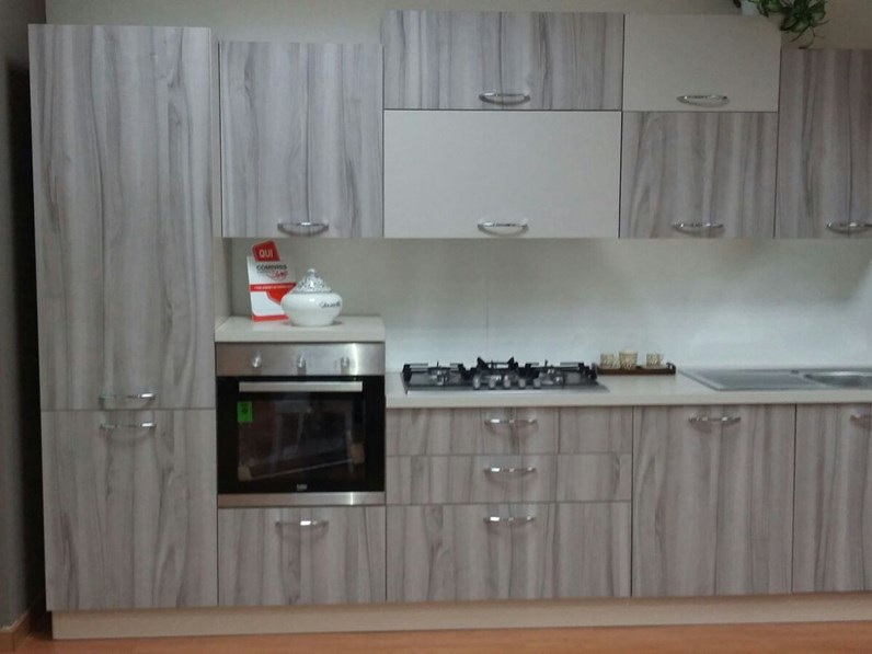Cucina moderna lineare di net cucine new smart 330 a for Cucina moderna 330