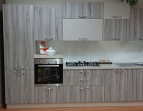 Cucina moderna lineare di Net cucine New smart 330 a prezzo ribassato
