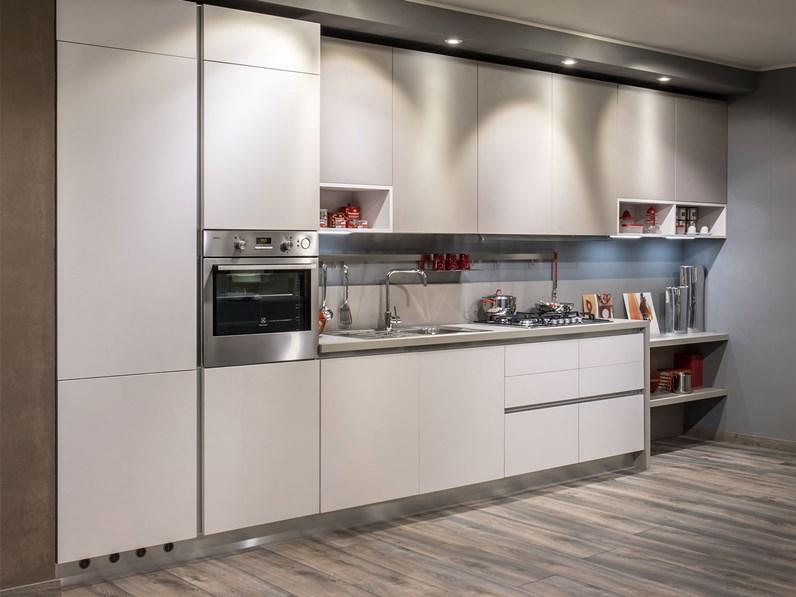 Cucine Moderne Con Prezzi.Cucina Moderna Lineare Diotti Com Six A Prezzo Ribassato