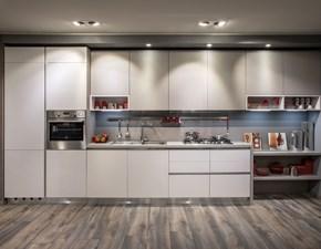 Cucina moderna lineare Diotti.com Six a prezzo ribassato