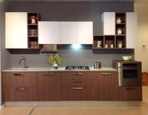 Cucina moderna lineare Doimo cucine Simply a prezzo scontato