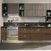 cucina in stile industrial dialma brown