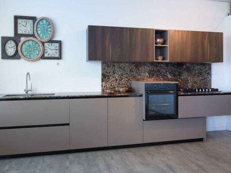 Cucina moderna lineare materia doimo cucine top e alzata - Cucine doimo prezzi ...