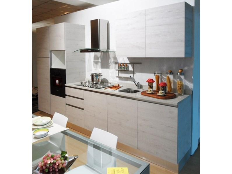 Cucina moderna lineare mobilegno cucine mia a prezzo scontato - Mobilegno cucine ...