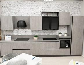 Cucina moderna lineare Mobilturi Agorà a prezzo ribassato