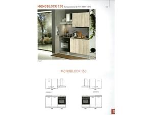 Cucina moderna lineare Mobilturi cucine M150 a prezzo ribassato
