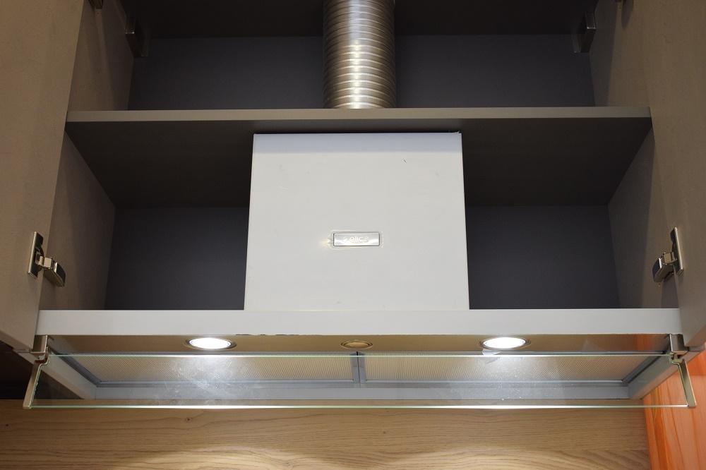 Cucina arredo3 modello cloe composizione lineare scontata - Cucina incassata ...