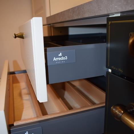 Cucina moderna linearelaccata lucida arredo3 cucine for Arredo3 cucine prezzi