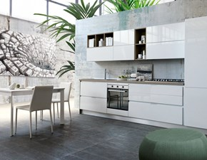 Cucina moderna lineare Mottes selection Kali' a prezzo ribassato