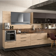 cucina  moderna lineare nature zen easy in offerta outlet nuovimondi