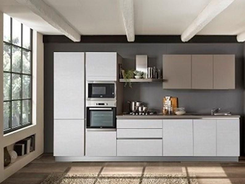 Cucina moderna lineare Net cucine Delizia a prezzo scontato