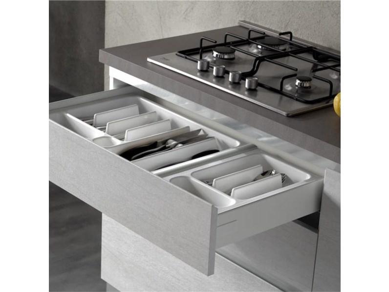 Quanto Costa Cucina Moderna.Cucina Moderna Lineare Net Cucine Delizia A Prezzo Scontato