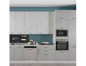 Cucina moderna lineare Net cucine New smart a prezzo ribassato