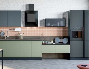 Cucina moderna lineare Stosa Art a prezzo scontato