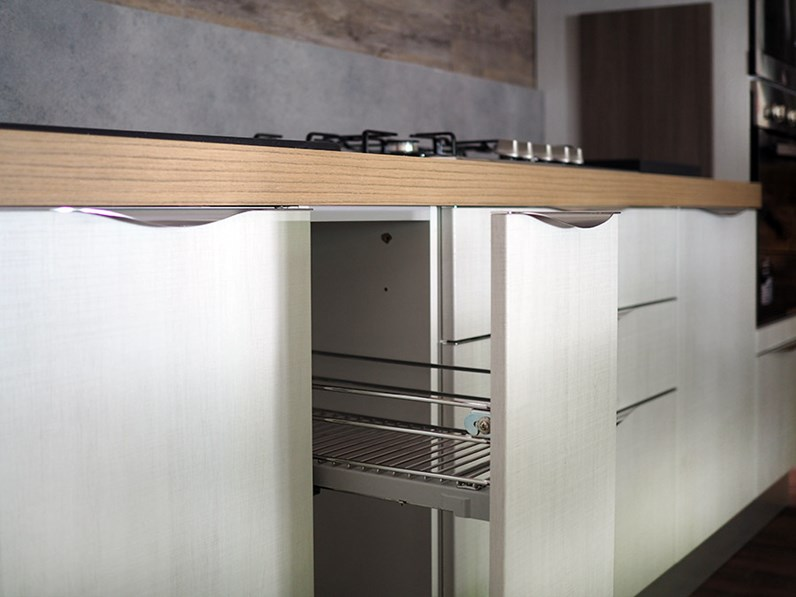 Cucina moderna lineare tranche prezzo offerta outlet completa - Cucina moderna prezzo ...