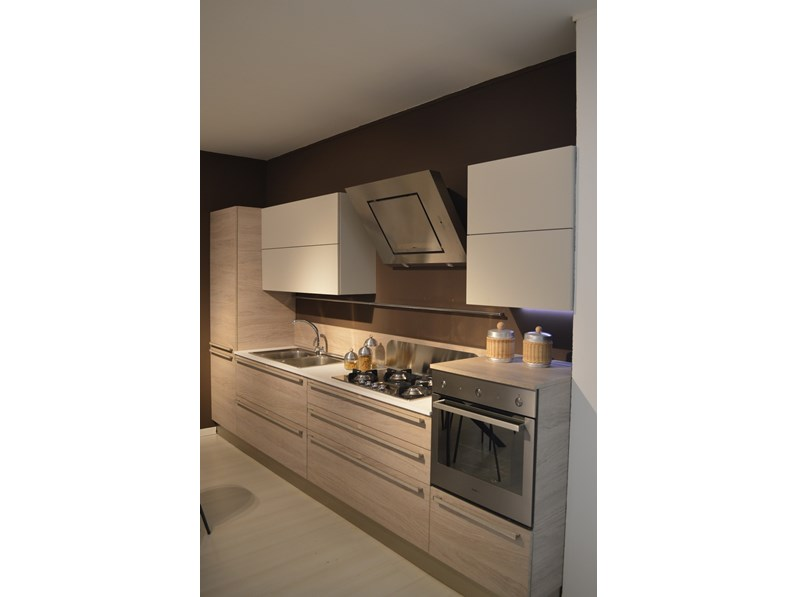 Veneta Cucine Ethica.Cucina Moderna Lineare Veneta Cucine Mod Ethica