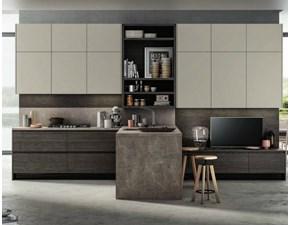cucina  moderna living in offerta mondo convenienza
