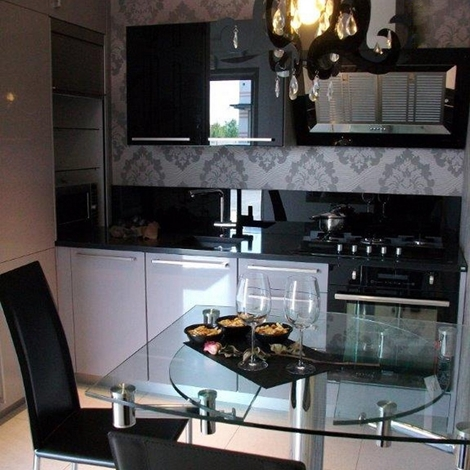 Cucina moderna grigia life ad angolo occasione scontata del 48 ...