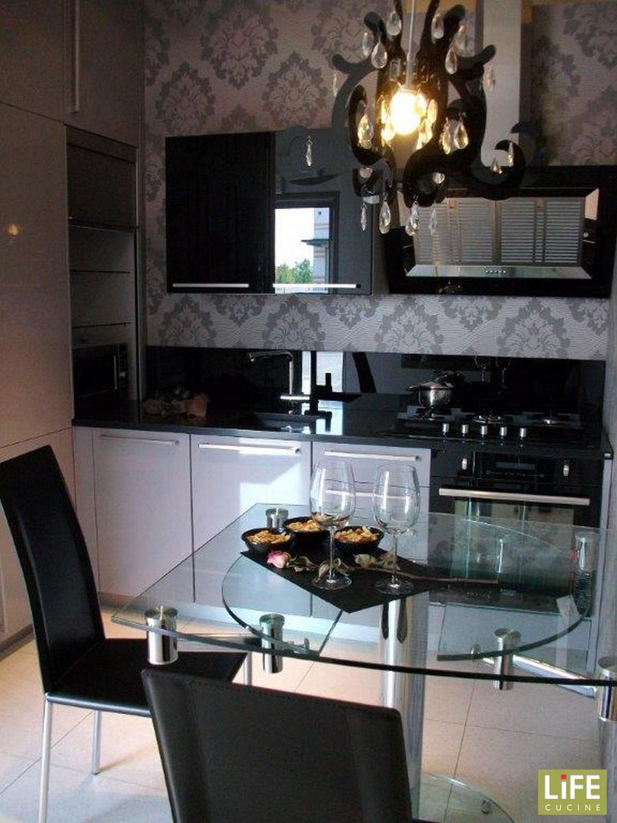Cucina moderna grigia life ad angolo occasione scontata del 73 cucine a prezzi scontati - Life cucine prezzi ...