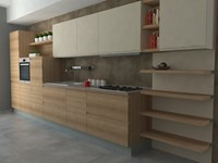 Cucina moderna modello jey by creo kitchens