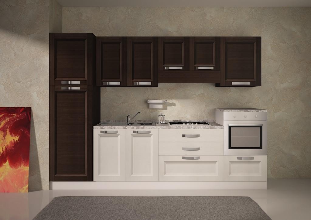 Cucina moderna modello sabrina cucine a prezzi scontati for Cucina moderna altezza