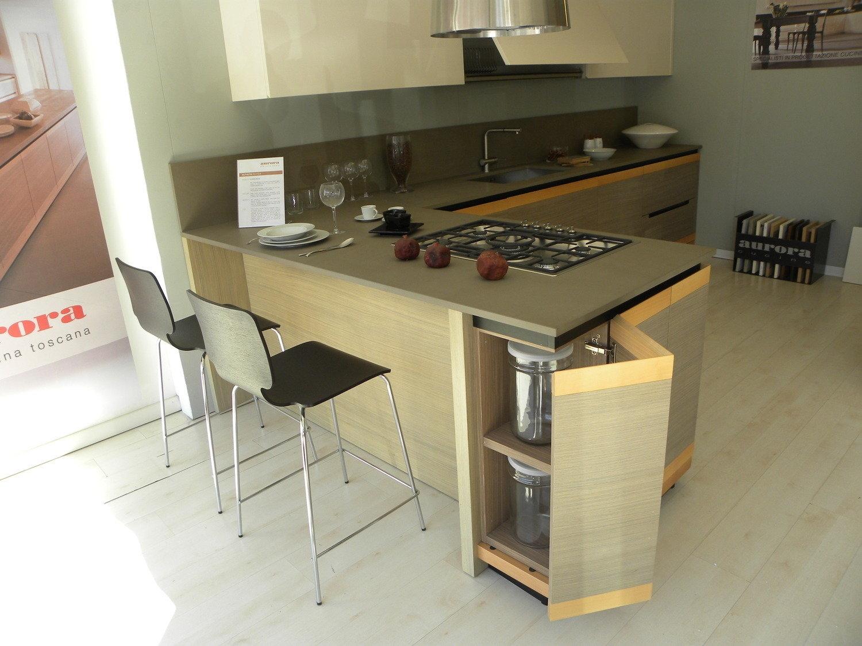 Cucina moderna occasione 4051 cucine a prezzi scontati - Aurora cucine outlet ...