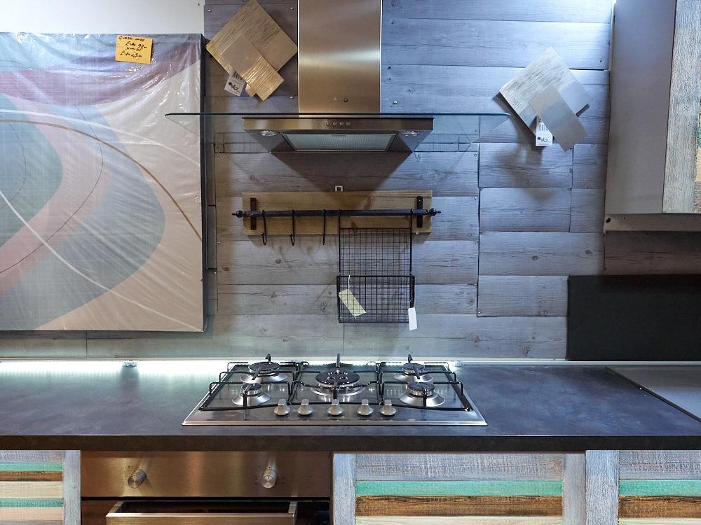 Cucina moderna recicle colorata vintage in offerta for Cucina completa offerta