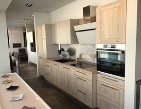 Cucina moderna rovere chiaro Artigianale lineare Cucina mod. cottege scontata
