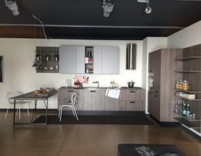 Cucina moderna rovere chiaro Cesar cucine ad angolo Kora in offerta