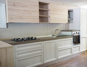 cucina moderna penisola legno no stosa con penisola mobile  il essenza olmo nature