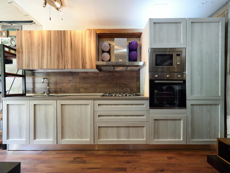 cucina moderna shabby white chic in offerta nuovimondi On cucina moderna white