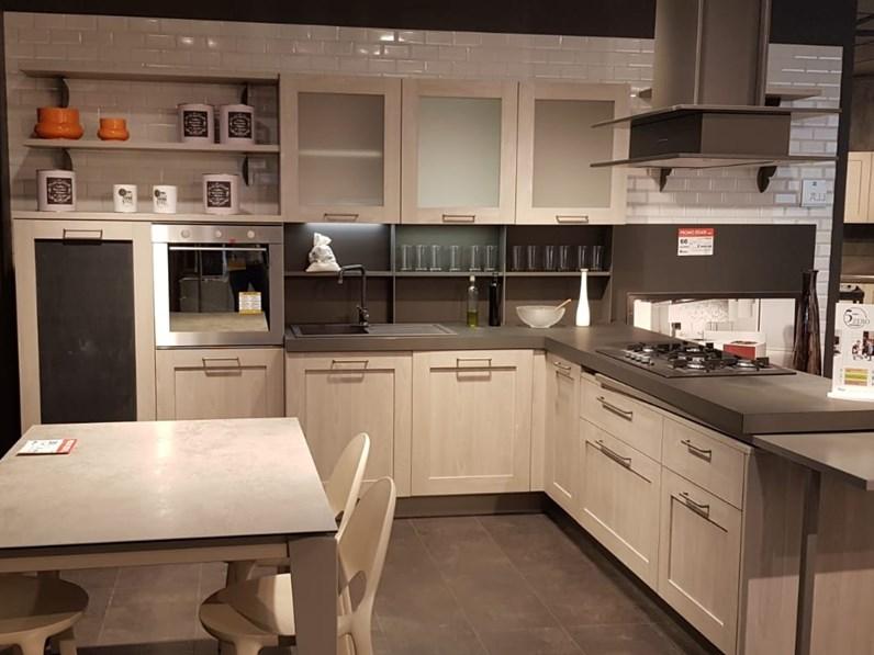 Cucina Moderna Tortora.Cucina Moderna Tortora Stosa Cucine Con Penisola City In Offerta