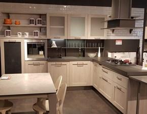 Cucina moderna tortora Stosa cucine con penisola City in offerta
