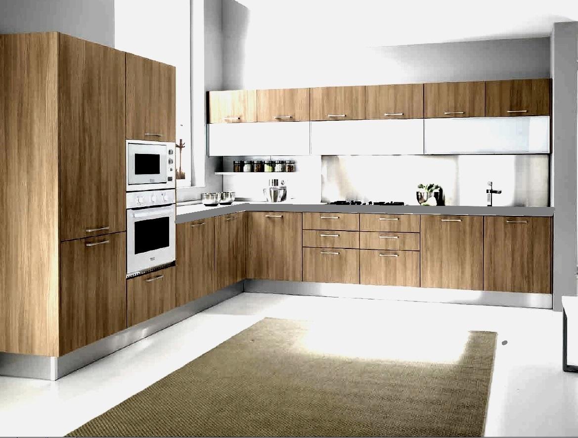 cucina moderna vintage essenza rovere vecchio angolare con ...