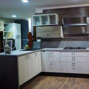cucina moderna  vintage in offerta outlet completa con penisola vero affare