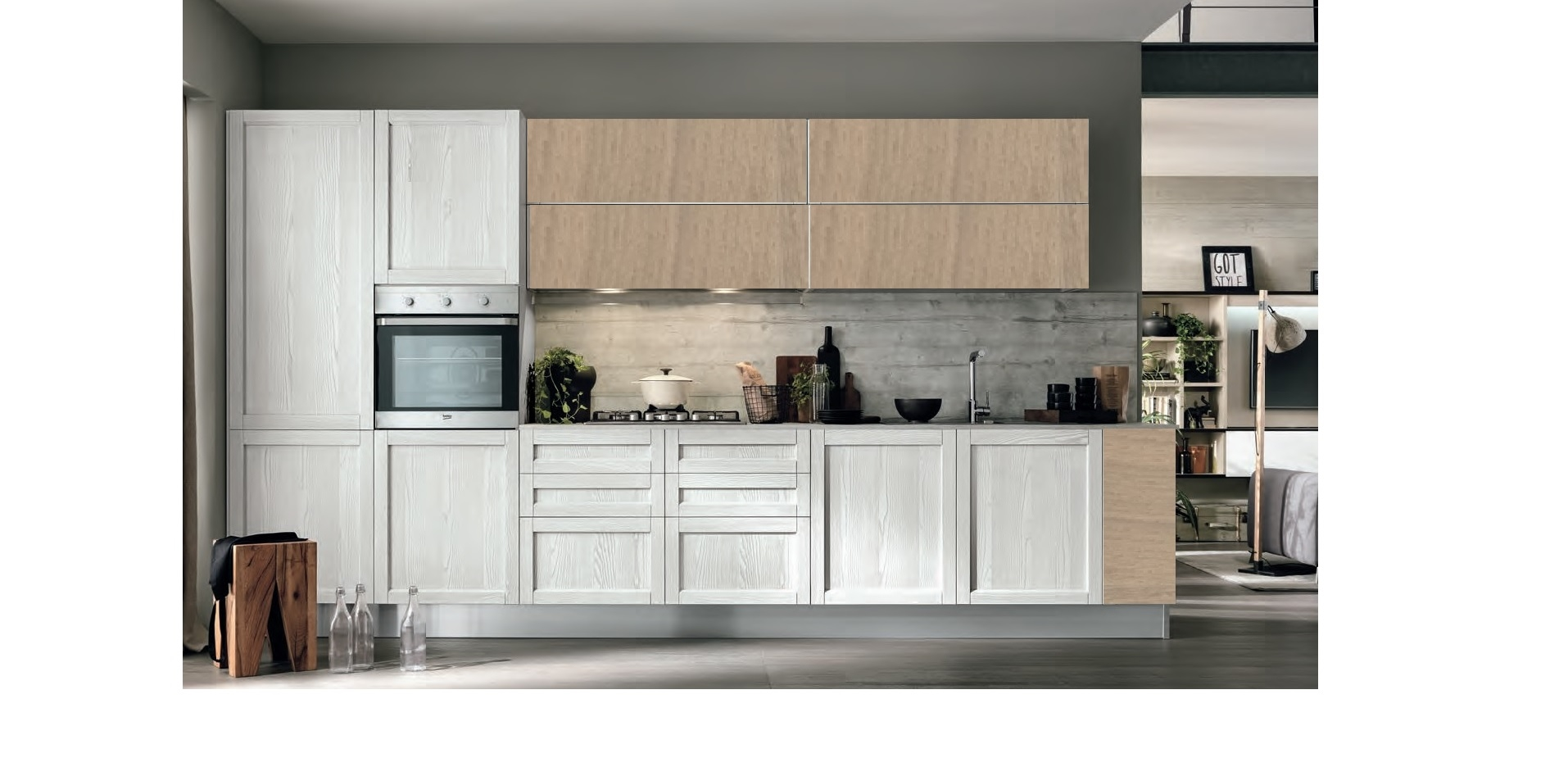 Ante cucina legno 47 images mobile base 2 ante per - Legno per cucine ...