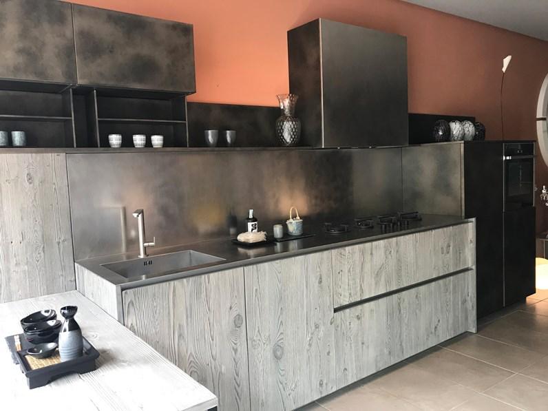 cucina moderna zampieri cucine lineare axis in offerta. Black Bedroom Furniture Sets. Home Design Ideas
