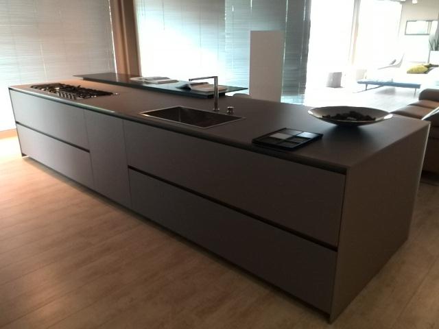 Cucina modulnova blade vetro alluminio scontato del 69 cucine a prezzi scontati - Prezzi cucine modulnova ...