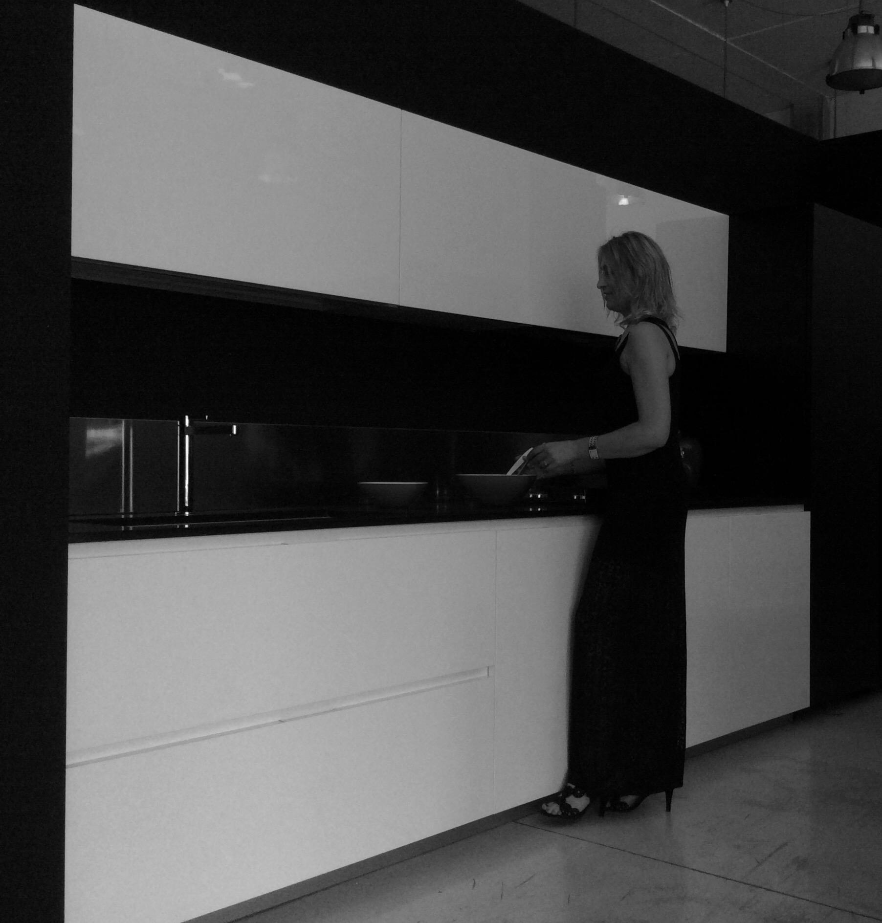 Cucina modulnova design laccato lucido bianca cucine a prezzi scontati - Cucina laccato bianco ...