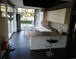 Cucina Modulnova moderna ad angolo altri colori in melaminico Mh6