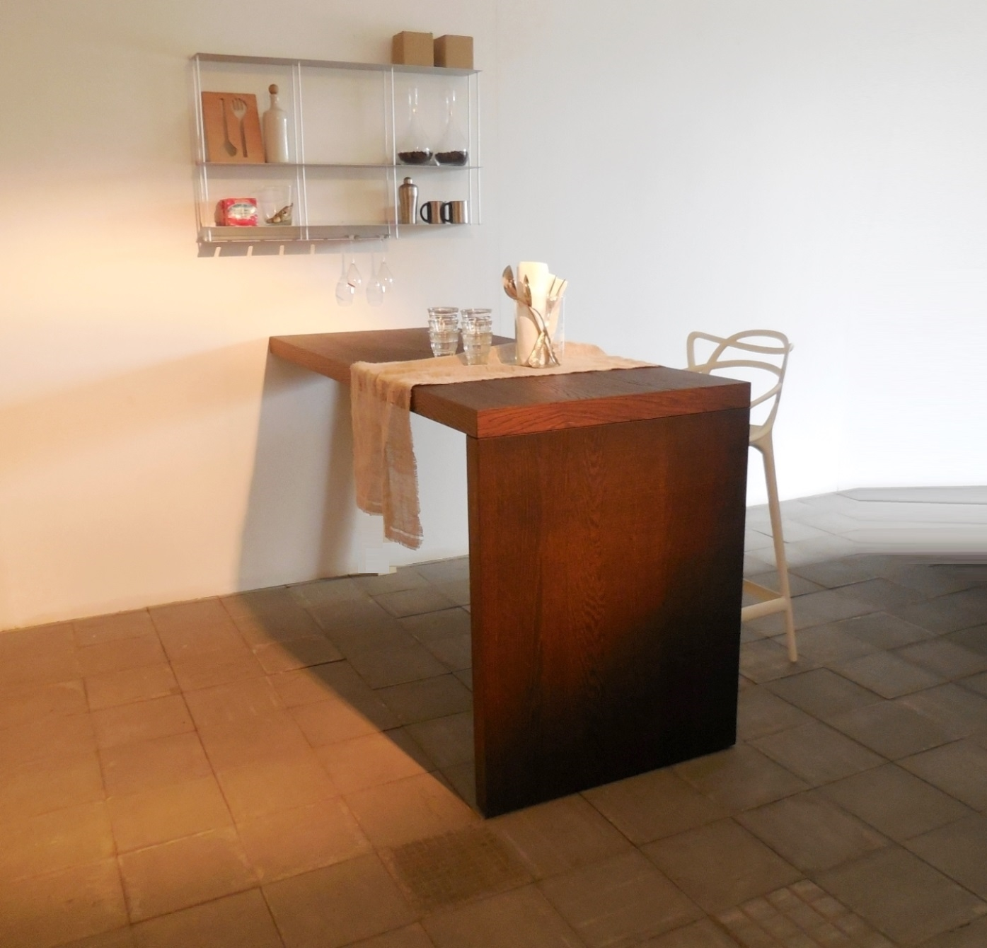 Cucina modulnova piano snack penisola tavolo rovere raw for Immagini per cucina
