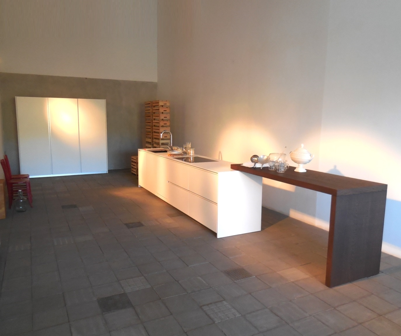 Modulnova Cucine Piano Per Penisola In Appoggio A Top Cucine O  #9C622F 1373 1150 Veneta Cucine O Modulnova